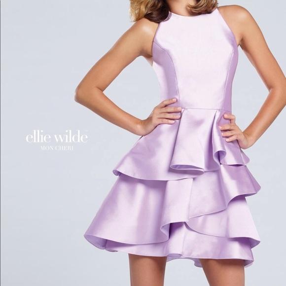 Mon Cheri Dresses & Skirts - BLACK!!! NWT homecoming dress size 2